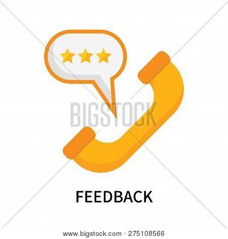 Feedback Icon Isolated On White Background. Feedback Icon Simple Sign. Feedback Icon Trendy And Mode