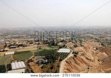 The Ancient City Jericho In Middle East