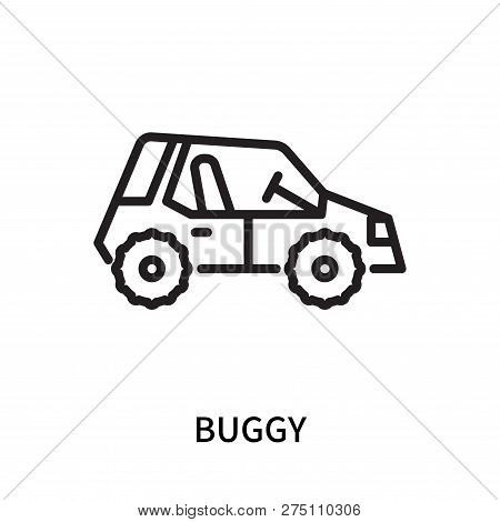 Buggy Icon Isolated On White Background. Buggy Icon Simple Sign. Buggy Icon Trendy And Modern Symbol