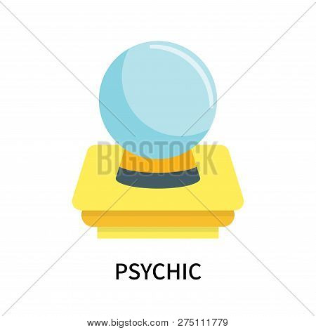 Psychic Icon Isolated On White Background. Psychic Icon Simple Sign. Psychic Icon Trendy And Modern