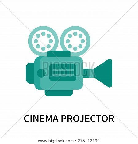 Cinema Projector Icon Isolated On White Background. Cinema Projector Icon Simple Sign. Cinema Projec