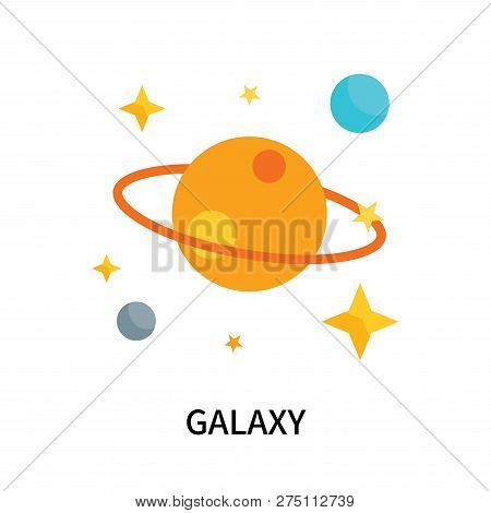 Galaxy Icon Isolated On White Background. Galaxy Icon Simple Sign. Galaxy Icon Trendy And Modern Sym