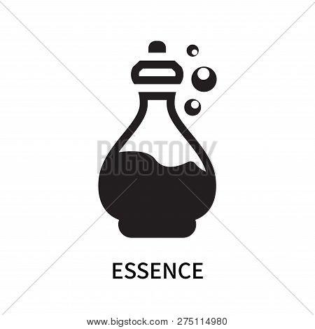 Essence Icon Isolated On White Background. Essence Icon Simple Sign. Essence Icon Trendy And Modern