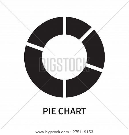 Pie Chart Icon Isolated On White Background. Pie Chart Icon Simple Sign. Pie Chart Icon Trendy And M