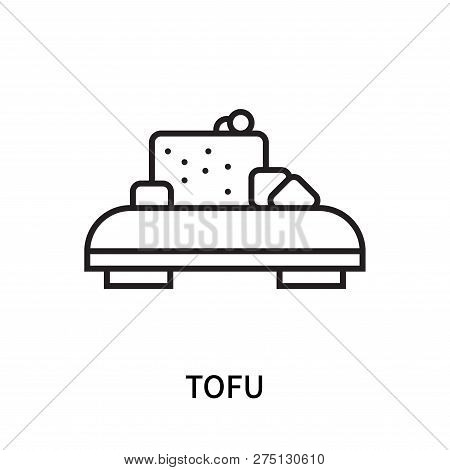 Tofu Icon Isolated On White Background. Tofu Icon Simple Sign. Tofu Icon Trendy And Modern Symbol Fo