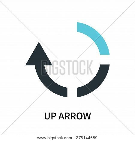 Up Arrow Icon Isolated On White Background. Up Arrow Icon Simple Sign. Up Arrow Icon Trendy And Mode