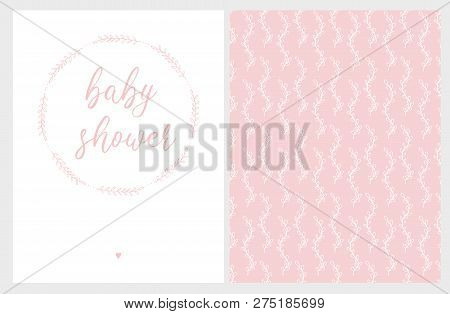 Cute Baby Shower Vector Photo Free Trial Bigstock
