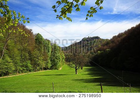Bad Urach  Is A City In Germany, With Many Wonderful Landscapes