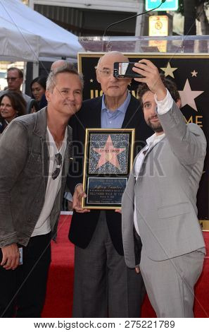 LOS ANGELES - AUG 8:  Roy Price, Jeffrey Tambor, Joe Lewis at the Jeffrey Tambor Star Ceremony on the Hollywood Walk of Fame on August 8, 2017 in Los Angeles, CA