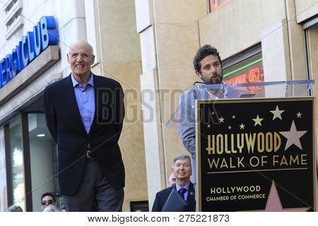 LOS ANGELES - AUG 8:  Jeffrey Tambor, Joe Lewis at the Jeffrey Tambor Star Ceremony on the Hollywood Walk of Fame on August 8, 2017 in Los Angeles, CA