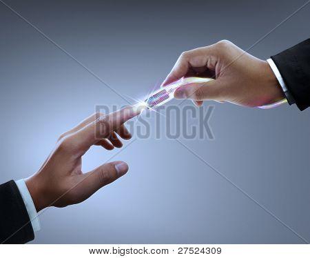 Hands, connectors