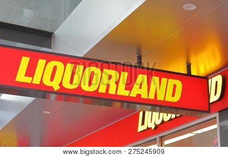 Melbourne Australia - December 4, 2018: Liquorland Liquor Shop In Australia. Liquorland Is Australia