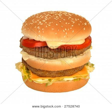 Double Burger With Cheese