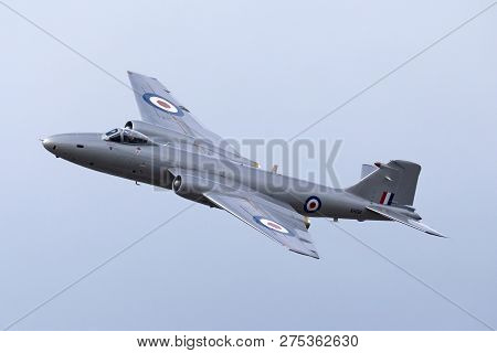 Farnborough, Uk - July 21, 2014: Former Royal Air Force English Electric Canberra Pr.9 Photographic