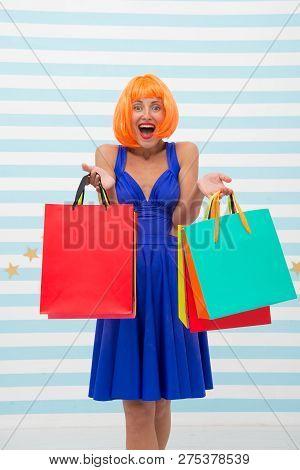 Fashion. Black Friday Sales. Happy Woman Go Shopping. Happy Shopping Online. Happy Holidays. Crazy G
