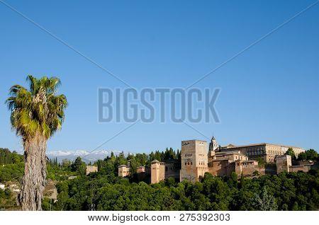 The Alhambra - Granada City - Spain