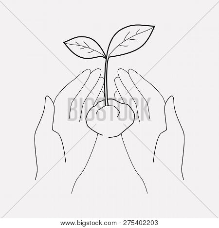 Ecology Icon Line Element. Vector Illustration Of Ecology Icon Line Isolated On Clean Background For