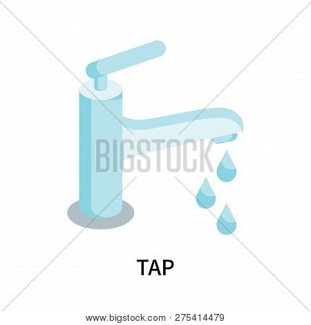 Tap Icon Isolated On White Background. Tap Icon Simple Sign. Tap Icon Trendy And Modern Symbol For G