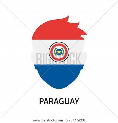 Paraguay Icon Isolated On White Background. Paraguay Icon Simple Sign. Paraguay Icon Trendy And Mode