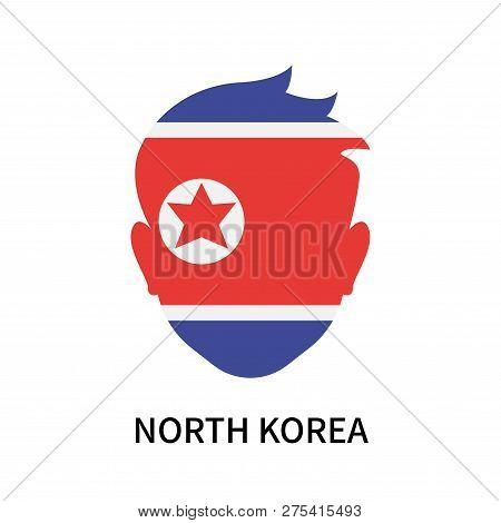 North Korea Icon Isolated On White Background. North Korea Icon Simple Sign. North Korea Icon Trendy