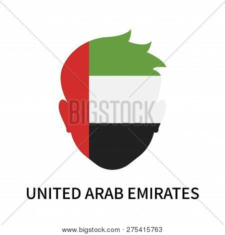 United Arab Emirates Icon Isolated On White Background. United Arab Emirates Icon Simple Sign. Unite