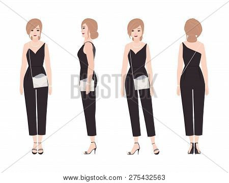 Gorgeous Young Woman Vector Photo Free Trial Bigstock