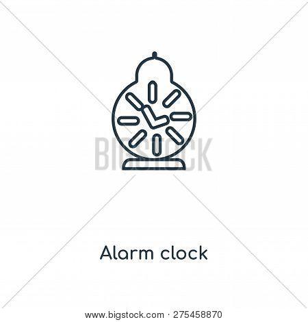 Alarm Clock Icon Vector & Photo (Free Trial) | Bigstock