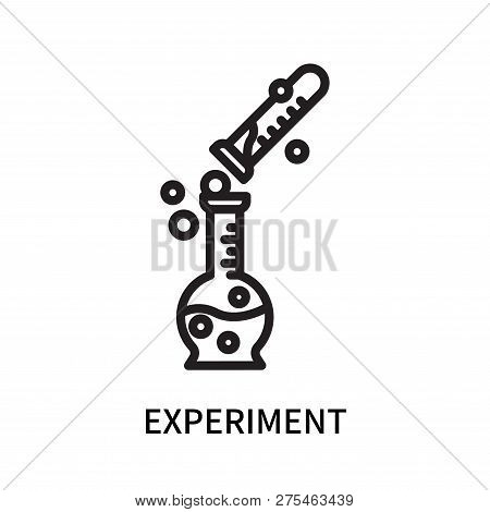 Experiment Icon Isolated On White Background. Experiment Icon Simple Sign. Experiment Icon Trendy An