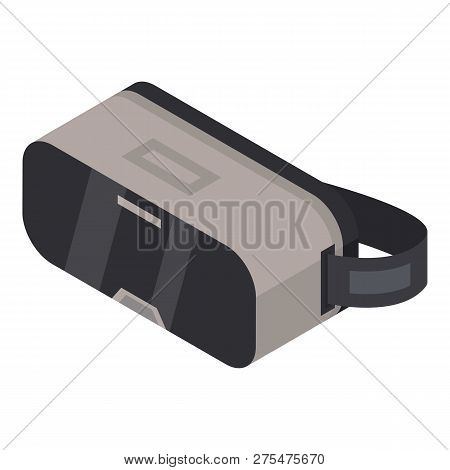 Virtual Reality Glasses Icon. Isometric Of Virtual Reality Glasses Vector Icon For Web Design Isolat