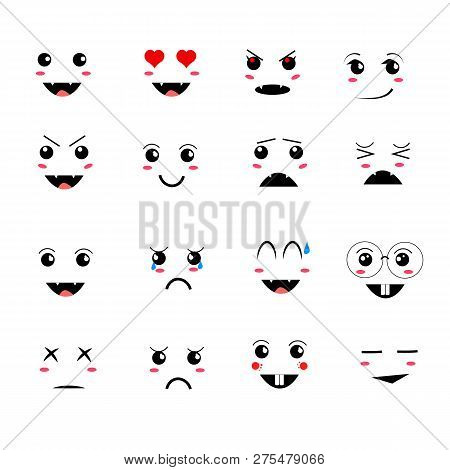Cartoon Kawaii Eyes Vector Photo Free Trial Bigstock Download a free preview or high quality adobe illustrator ai, eps, pdf and high resolution jpeg versions. cartoon kawaii eyes vector photo