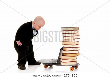 Internet Library Dwarf Surfing