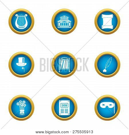 Agreement Icons Set. Flat Set Of 9 Agreement Icons For Web Isolated On White Background