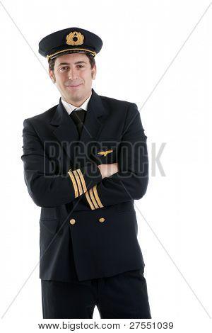 Portrait of a airline pilot/captain