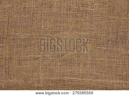 Burlap Canvas Coarse Jute Sackcloth Background Texture
