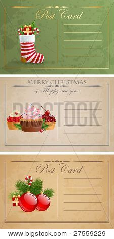 Postcards.