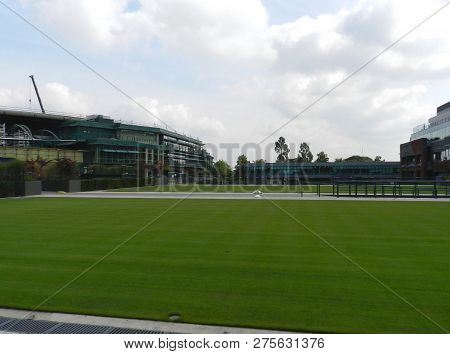 Wimbledon, United Kingdom. August 2016. Practice Grass Courts. All England Lawn Tennis And Croquet C