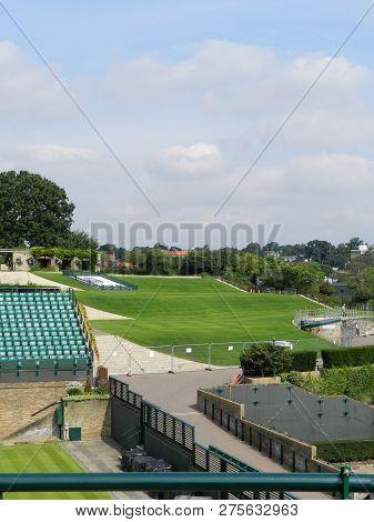Wimbledon, United Kingdom. August 2016. Aorangi Terrace Known As Henman Hill. All England Lawn Tenni