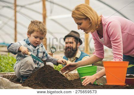 Business Development. Business Development Of Happy Family. Agriculture Business Development. Busine