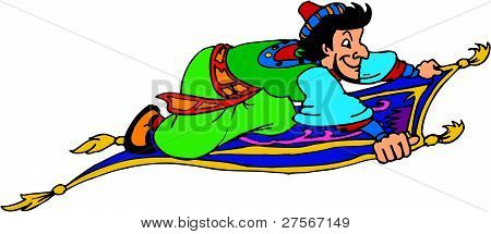 Aladdin's Magic Carpet