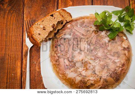 A Meat, Cold Appetizers, Ukrainian Cuisine, A, Delicious Food, Brawn