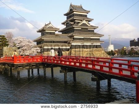 Japanische Burg