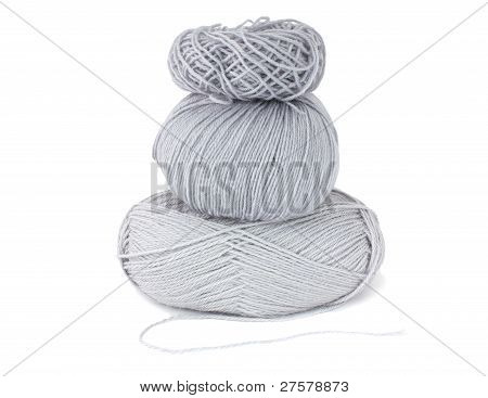 Skeins, isolated