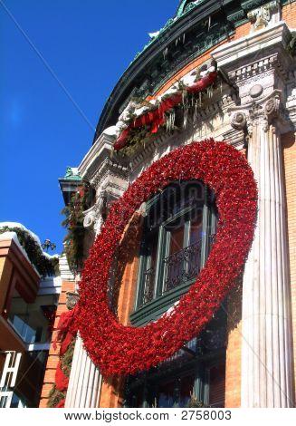 Quebec Architecture Christmas