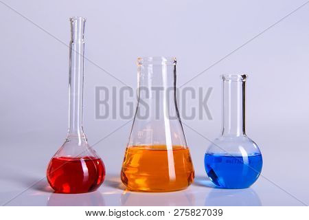 Science Laboratory Research And Equipment Chemistry Experiment