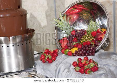 Fruits At Wedding Reception