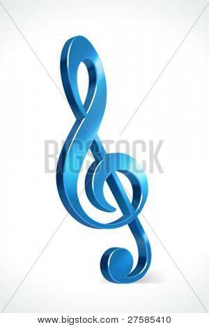 Music note vector illustration eps 10