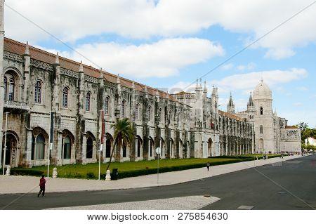 The Jeronimos Monastery - Lisbon - Portugal