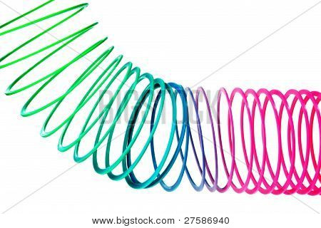 Coiled Spring Toy
