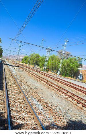 Matjiesfontein Train Tracks