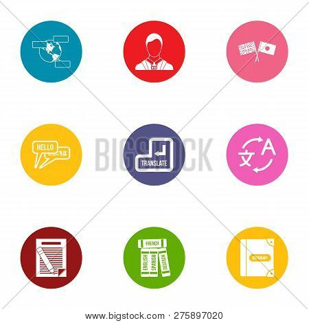Conversion Icons Set. Flat Set Of 9 Conversion Icons For Web Isolated On White Background